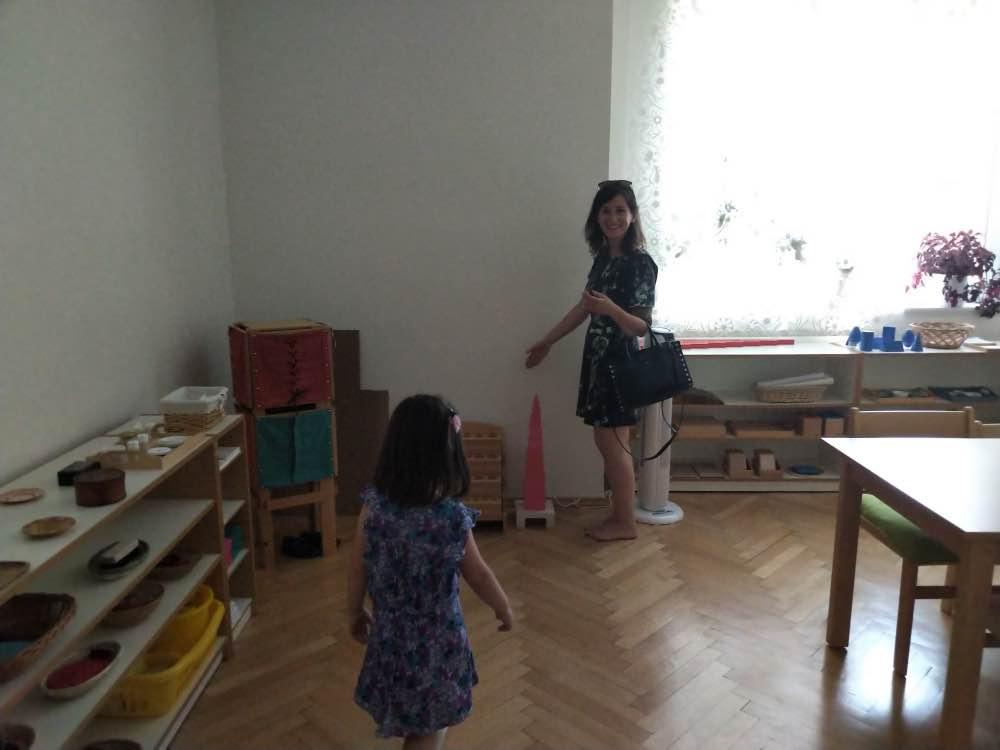 Montessoir classroom