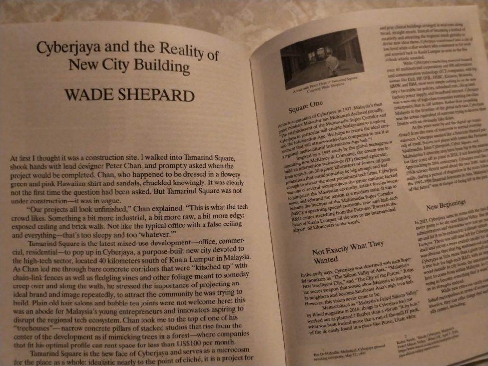 Wade Shepard academic journal Harvard