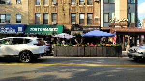 New York City street restaurants