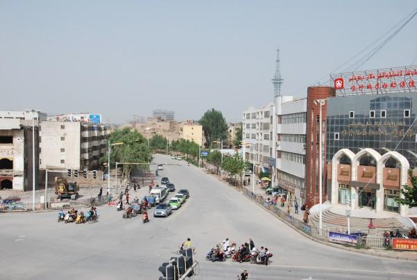 Modern day Kashgar