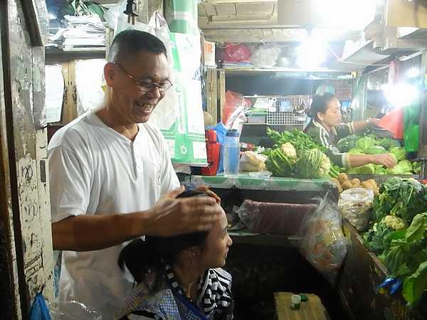 Baguio city market Philippines 5