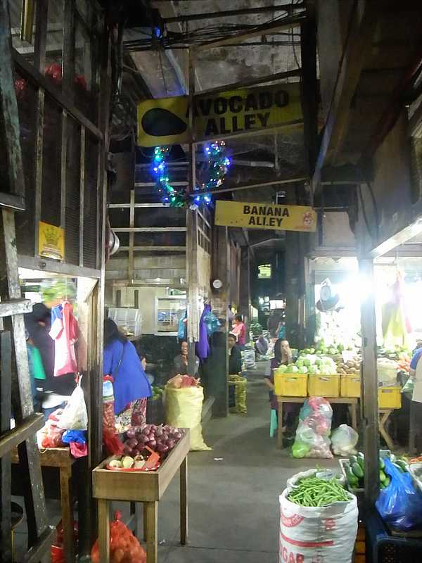 Baguio city market Philippines 8
