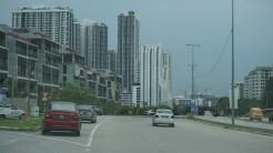 The streets of Cyberjaya