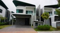 1970s-era space-aged houses in Cyberjaya