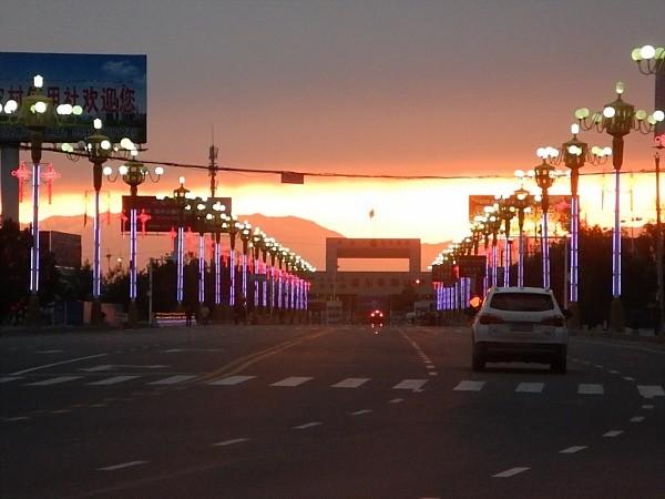 Horgos China border