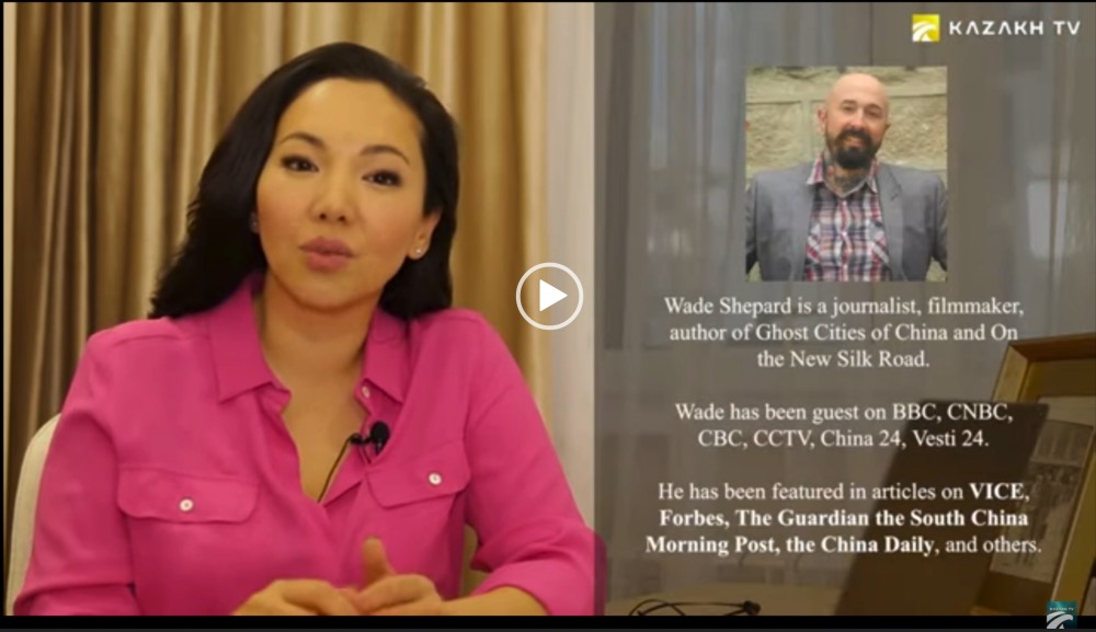 Wade Shepard on Kazakh TV