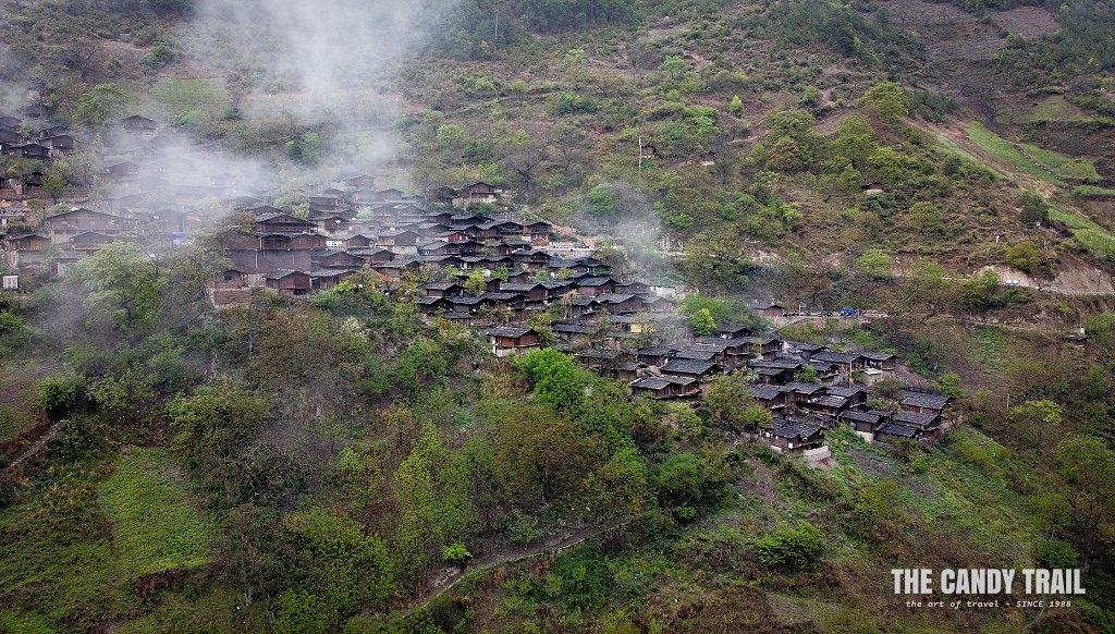 Tong Le - Lisu Minority Village (drone)