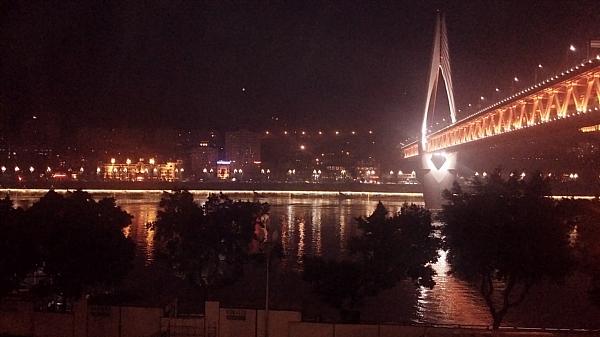 Changshou Bridge at Night