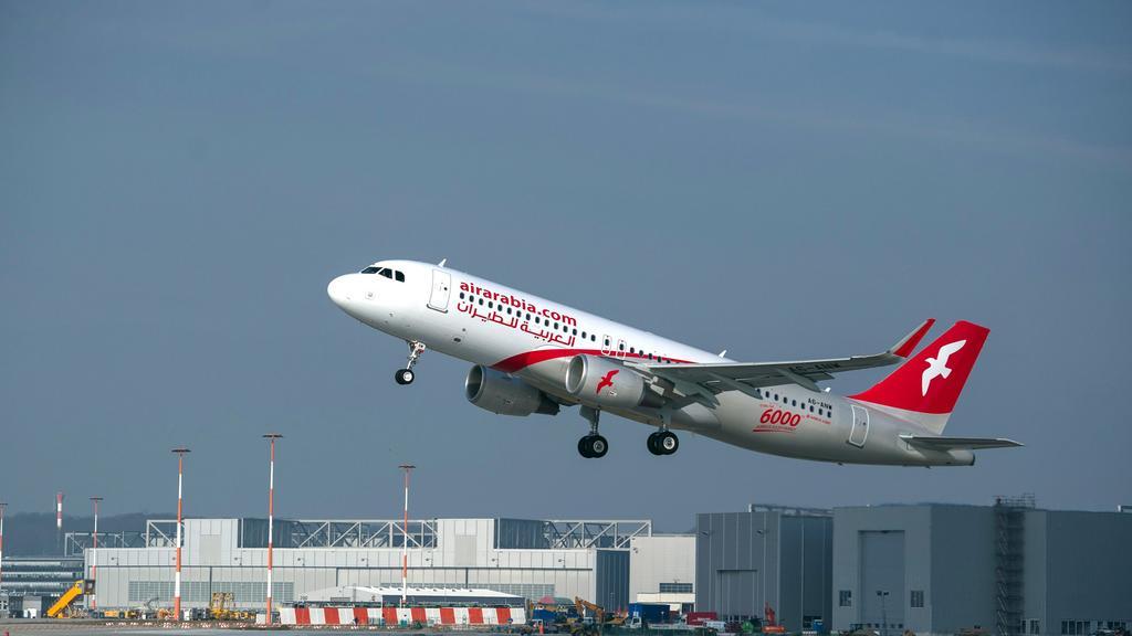 Air Arabia airplane