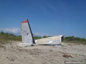 Airplane Crash Ventanilla