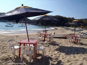 Beach Restaurant Mexico