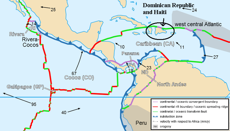 Caribbean Plate Tectonics