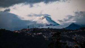 South America mountain