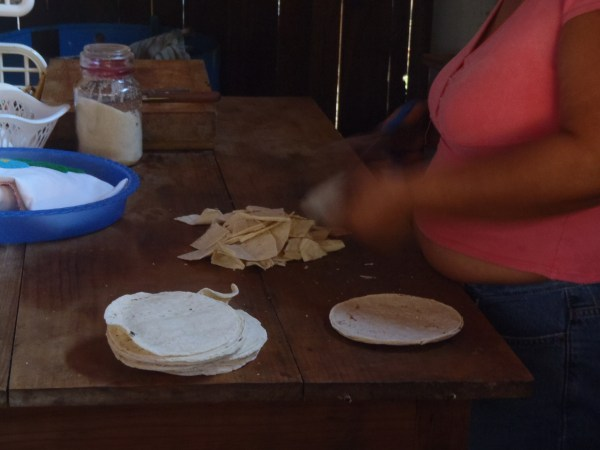 preparation of chilaquiles