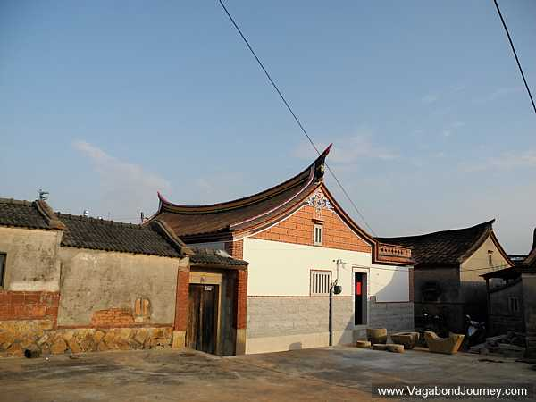 Chinese Architecture: Swallowtail roof