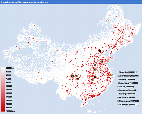 Chinas Traffic Crisis is a Population Density Problem