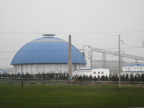 Coal power plant in Inner Mongolia.