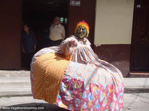 Mexico La Merce Parade