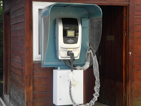 electric car charging station China (2)