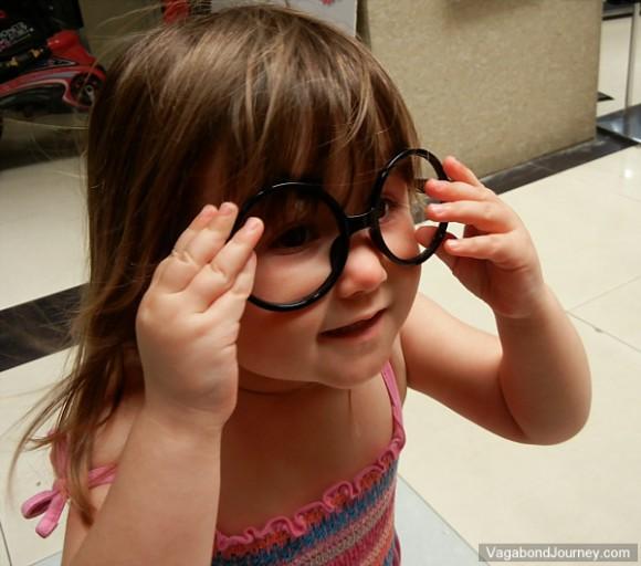 New fashion, no-lens glasses