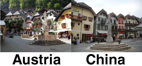 Hallstatt Austria and China