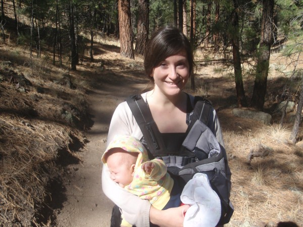 Hiking in Arizona with a baby