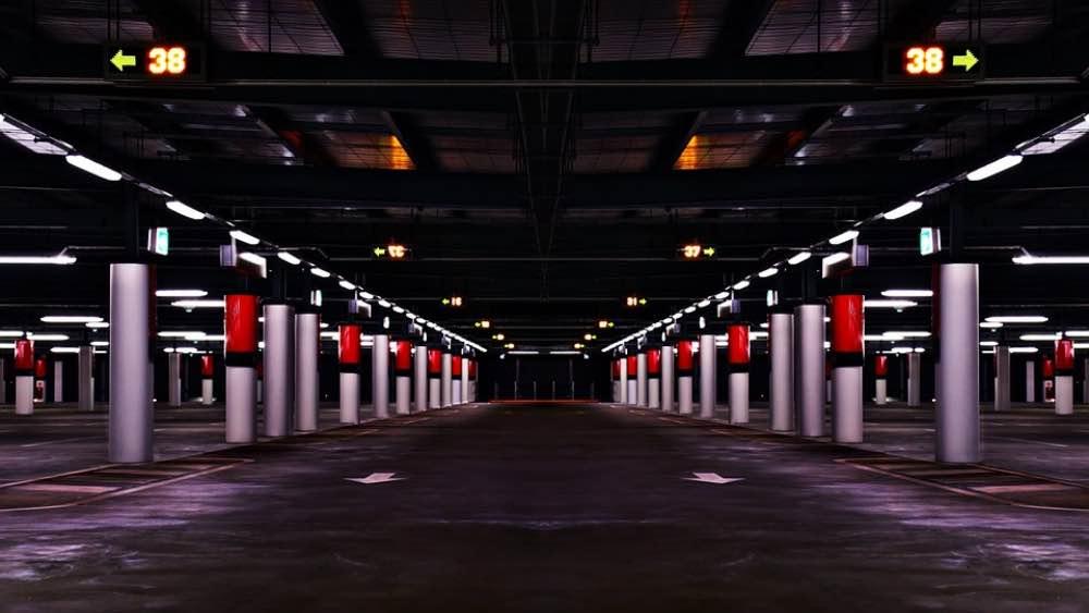 Airport carpark