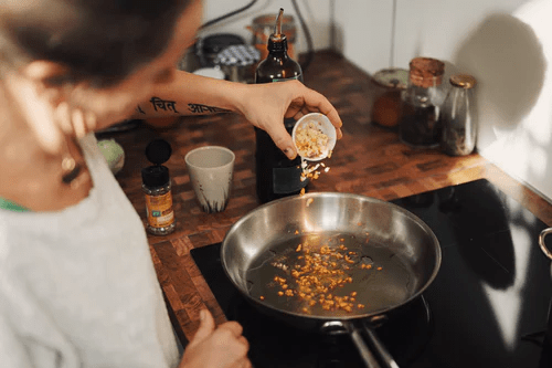 Cooking while traveling