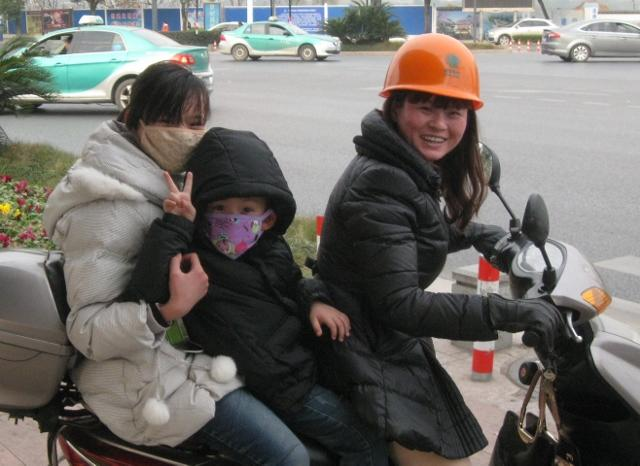 Chinese on ebike
