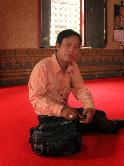Thai tuk-tuk driver