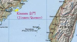 Kinmen Island map