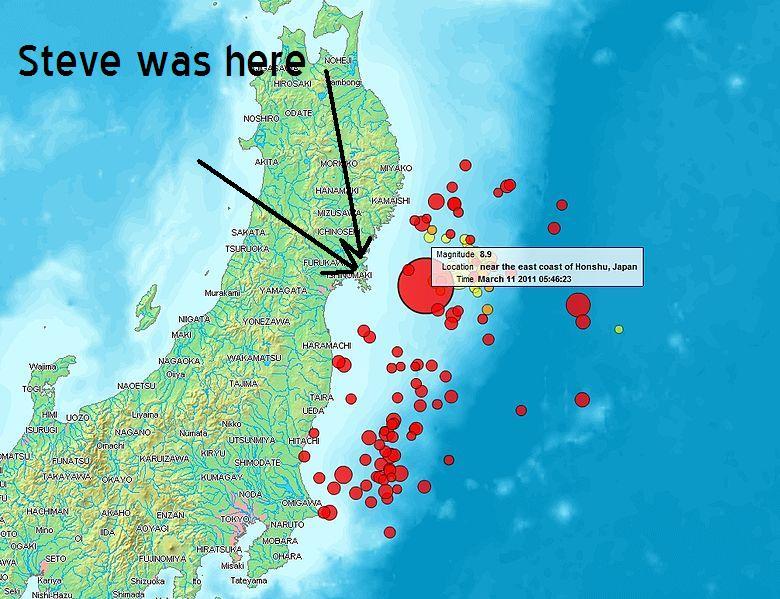 mapsendaiearthquake2011