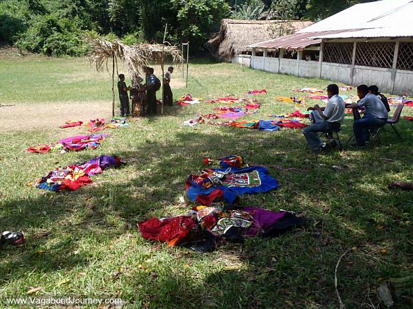 Maya dance costumes