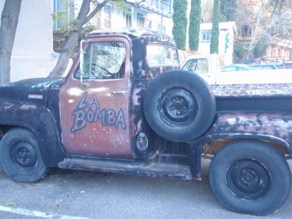 Old truck in Bisbee Arizona