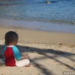 Petra Meditates Ocean