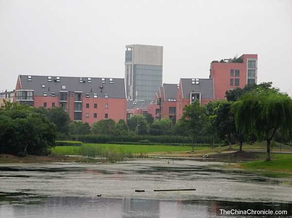 The outskirts of Shanghai at Anting