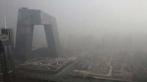 Smog storm in Beijing