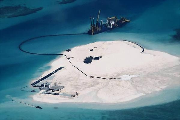spratly island land reclamation China_DCE