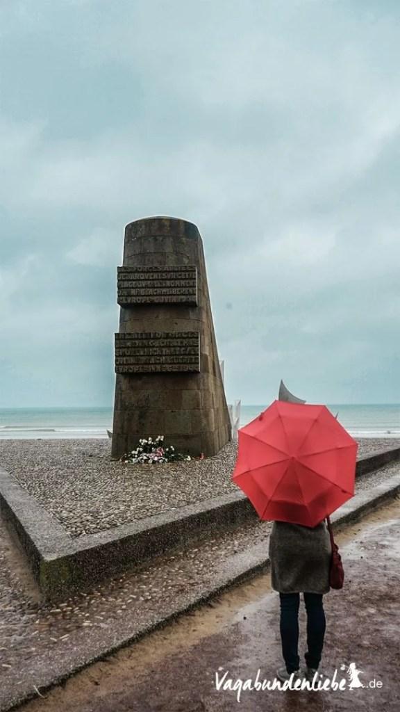 D-Day Memorial on Omaha-Beach
