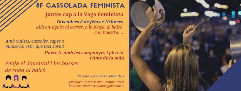 8F Cassolada Feminista