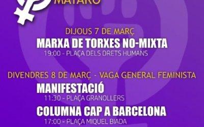 8 de març a Mataró