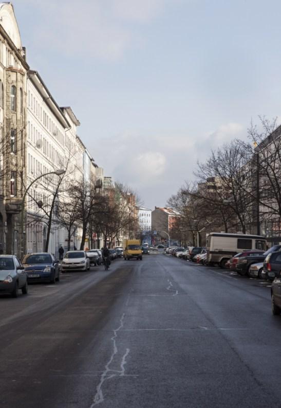 GERICHTSTRAßE. Berlin er kjent for å ha god plass og brede bygater.