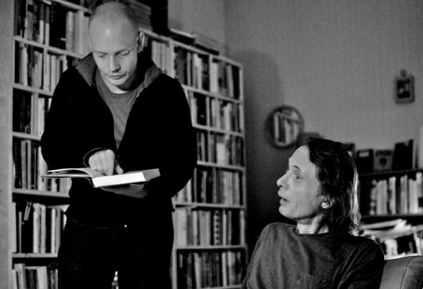 Audun Lindholm og Henning Hagerup. Intervju (2008).