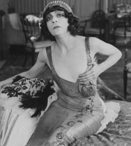 Asta Nielsen i Urban Gads Die Filmprimadonna, 1913
