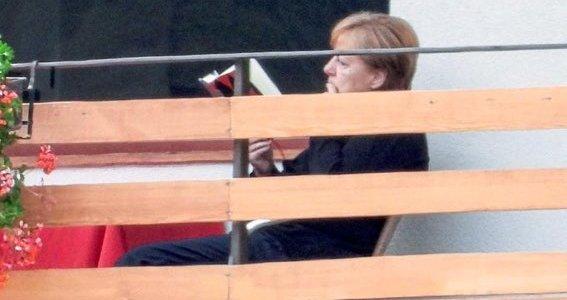 Angela Merkels ferielekture