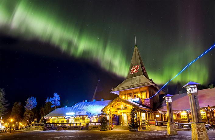 FINLANDIA a casa di Babbo Natale  Vaghi per il mondo