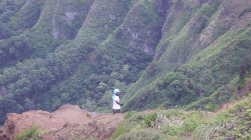 Koolau Range on Oahu, Pali