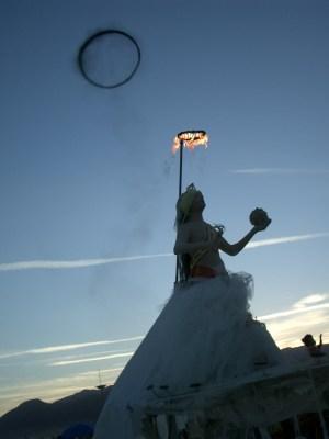 Burning Man Katrina