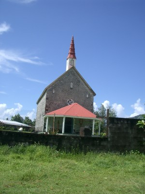 church in Tahiti