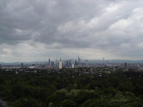 Goethe's Tower and Modern Frankfurt, Germany – Beer and Weenies!